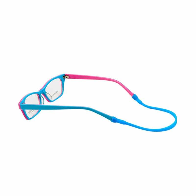 SUEF recién 20cm silicona tira de cadena para gafas Cable soporte cordón para el cuello para gafas de lectura cuidado fiesta favores para niños @ 3