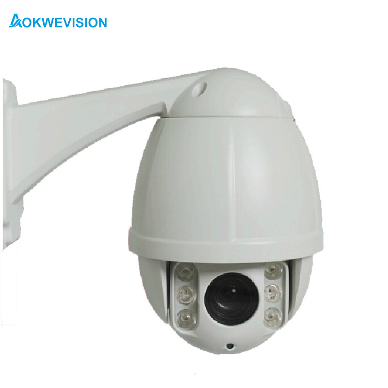 POE 1080P 2MP 10X optical zoom camera Mini weatherproof outdoor network onvif mini camera speed dome IP ptz poe camera dome