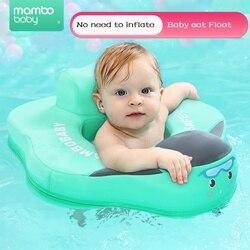 Anillo de seguridad sólido sin necesidad de inflar los accesorios de natación del bebé flotador del asiento del anillo de natación para el entrenador de nado del bebé