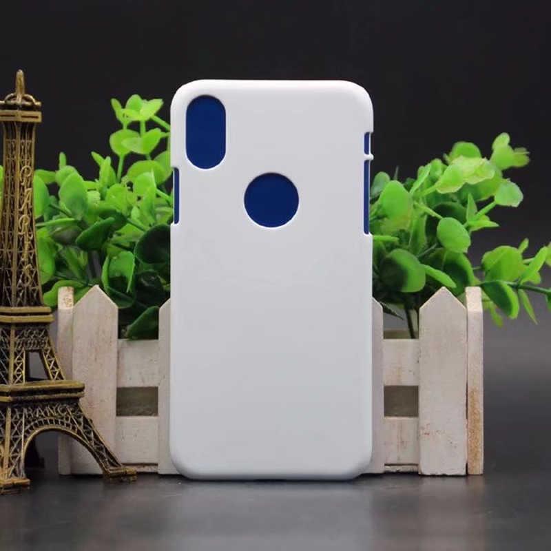 NSB ユニ 3D プリントブランクケース Iphone × 3D 昇華電話 × ハート転送 X 電話ケース印刷カバー
