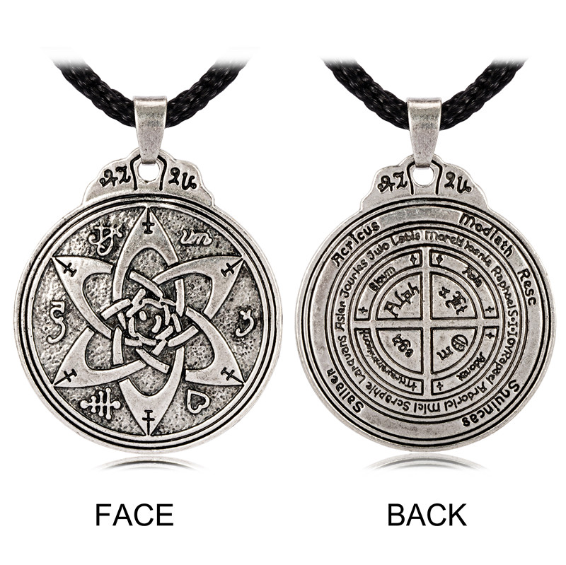 Talisman for Poets Writers and Actors Pentacle Pendant