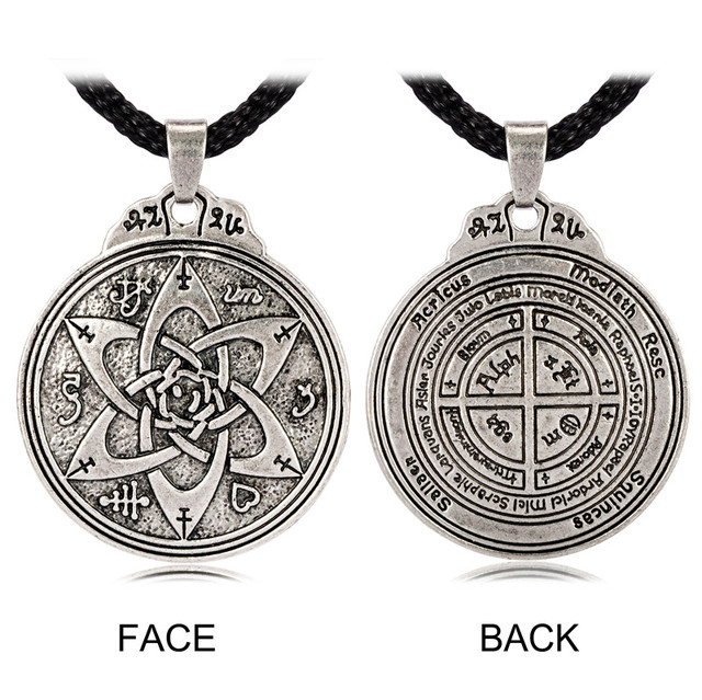 US $4 98  Talisman for Poets Writers and Actors Pentacle Pendant Hermetic  Jewelry-in Pendant Necklaces from Jewelry & Accessories on Aliexpress com  