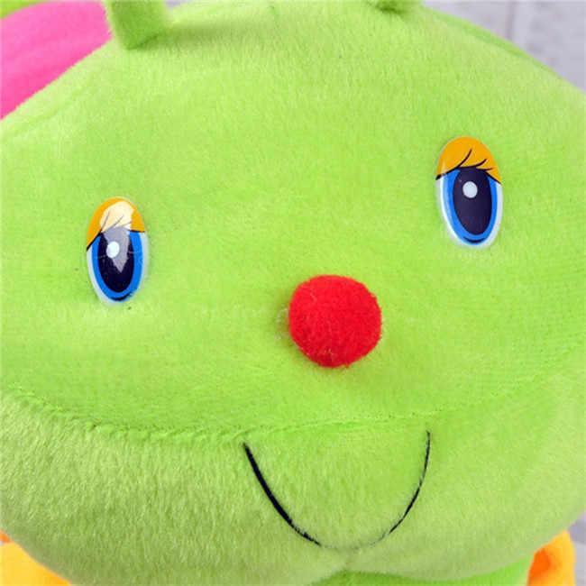 Kolorowe Caterpillar Millennium Bug nadziewane lalki dla dzieci śliczne miękkie zabawki dla dzieci pomieścić duże Caterpillar poduszki lalki dla dzieci
