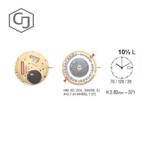 Movimento Eta F05.111D3 955.412 Nuovo quartz Zwitserse