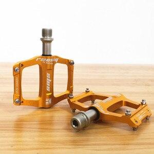 Image 4 - Pédales de vélo ultralégères en alliage daluminium, VTT, pour vtt et route, anodisation, pour Sports de plein air, à 3 roulements