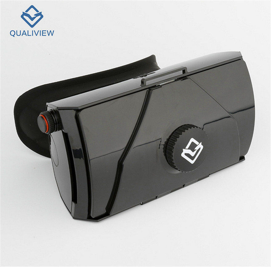 Original 3D BOX VR Glasses Helmet Google Cardboard Mobile Phone Virtual Reality Glasses Headset For 4.5-6 Phone