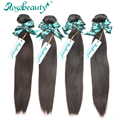 Rosa Hair Brazilian Virgin Hair Straight 4 Bundles Lot Grade 6A 100% Unprocessed Human Hair Straight Brazilian Straight Hair