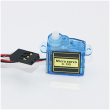 4x 4.3g Mini Micro Servo for RC Airplane Helicopter(3.7G 9G micro servo wholesale)+Free shipping
