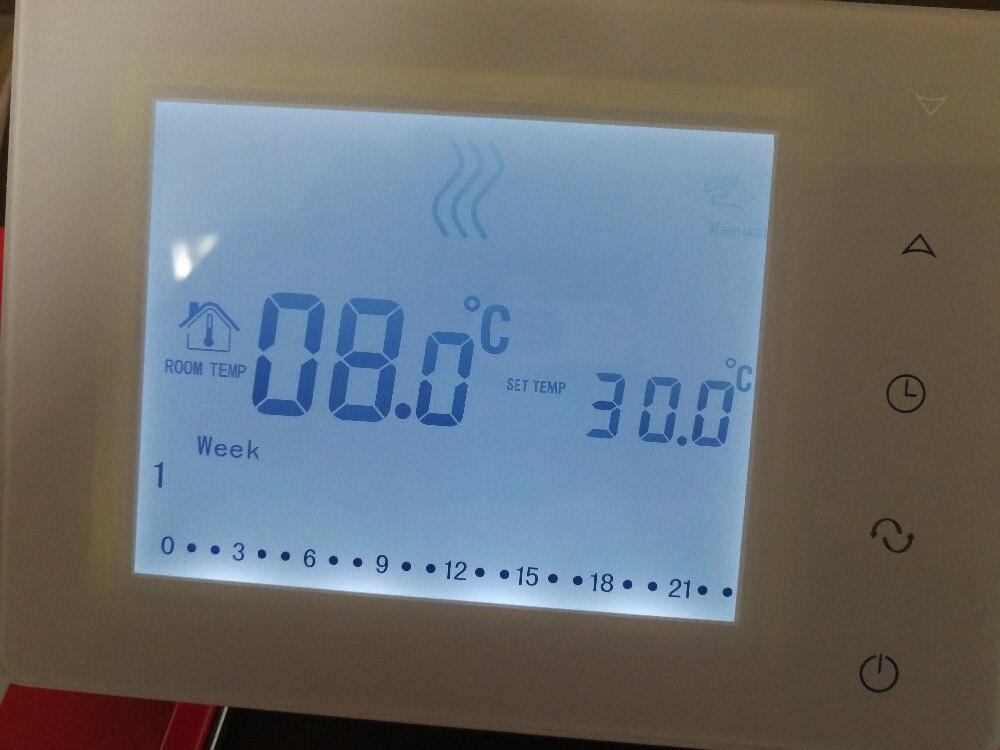 Draadloze touch screen programmeerbare gas boiler thermostaat-in Airconditioners van Huishoudelijk Apparatuur op  Groep 1