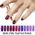 8ml Purple Colour Gel UV Colors Gel Nail Polish salon gel nail polish Bling lacquer LED Gel easy painting fingernail polish