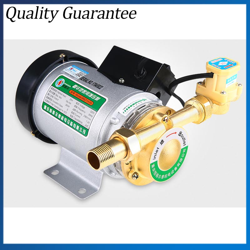 Custom 100W Household Manual 220V High Pressure Shower Booster Water Pump