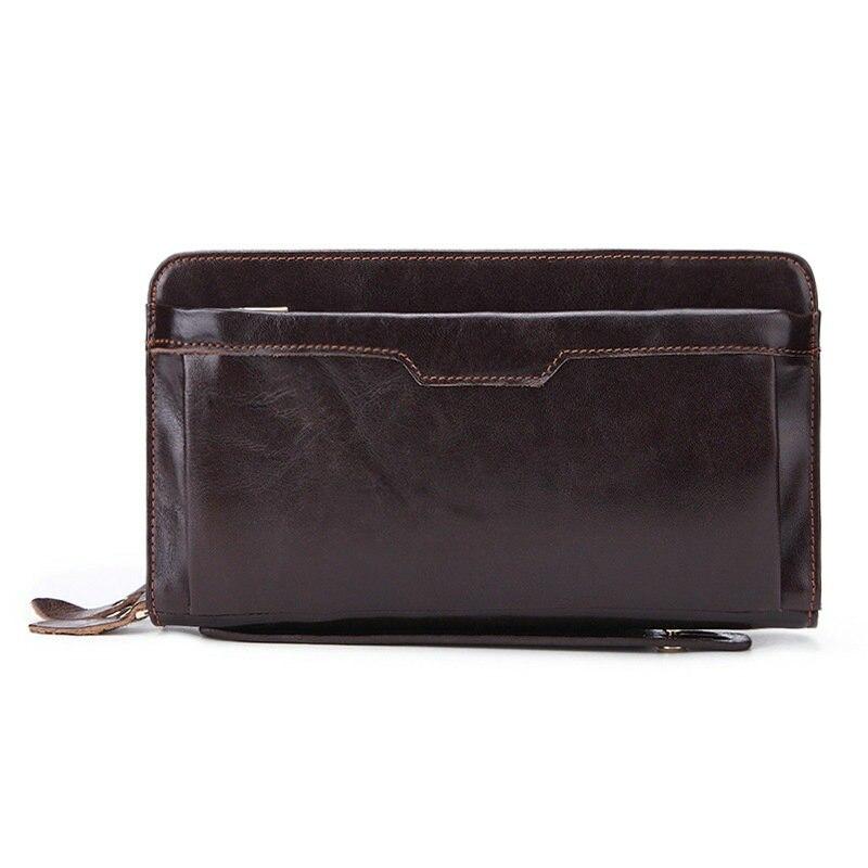 Baellerry Retro Herren Brieftasche Business Freizeit Große Kapazität Handtasche Handy Multi Karte Handtasche Mann Herrenbekleidung & Zubehör
