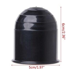 Image 4 - 범용 트레일러 액세서리 50MM 자동 견인 바 볼 커버 캡 히치 캐러밴 트레일러 견인 보호