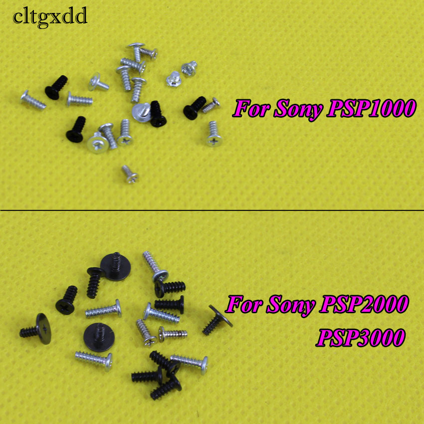 Cltgxdd  1Set For PSP1000 1001 Screws Full Screw Set Repair Parts For Sony PSP 2000 3000