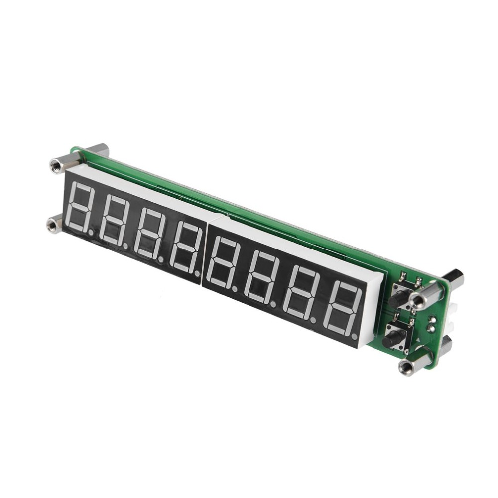 01 60mhz 20mhz 24ghz Rf 8 Digit Led Singal Frequency Counter Circuits Plj 8led H Signal Meter Cymometer Tester Module 011000mhz