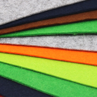 2pcs 65 45cm Super Large Non Woven Felt Fabric 3mm Thickness Polyester Cloth Felts DIY Craft