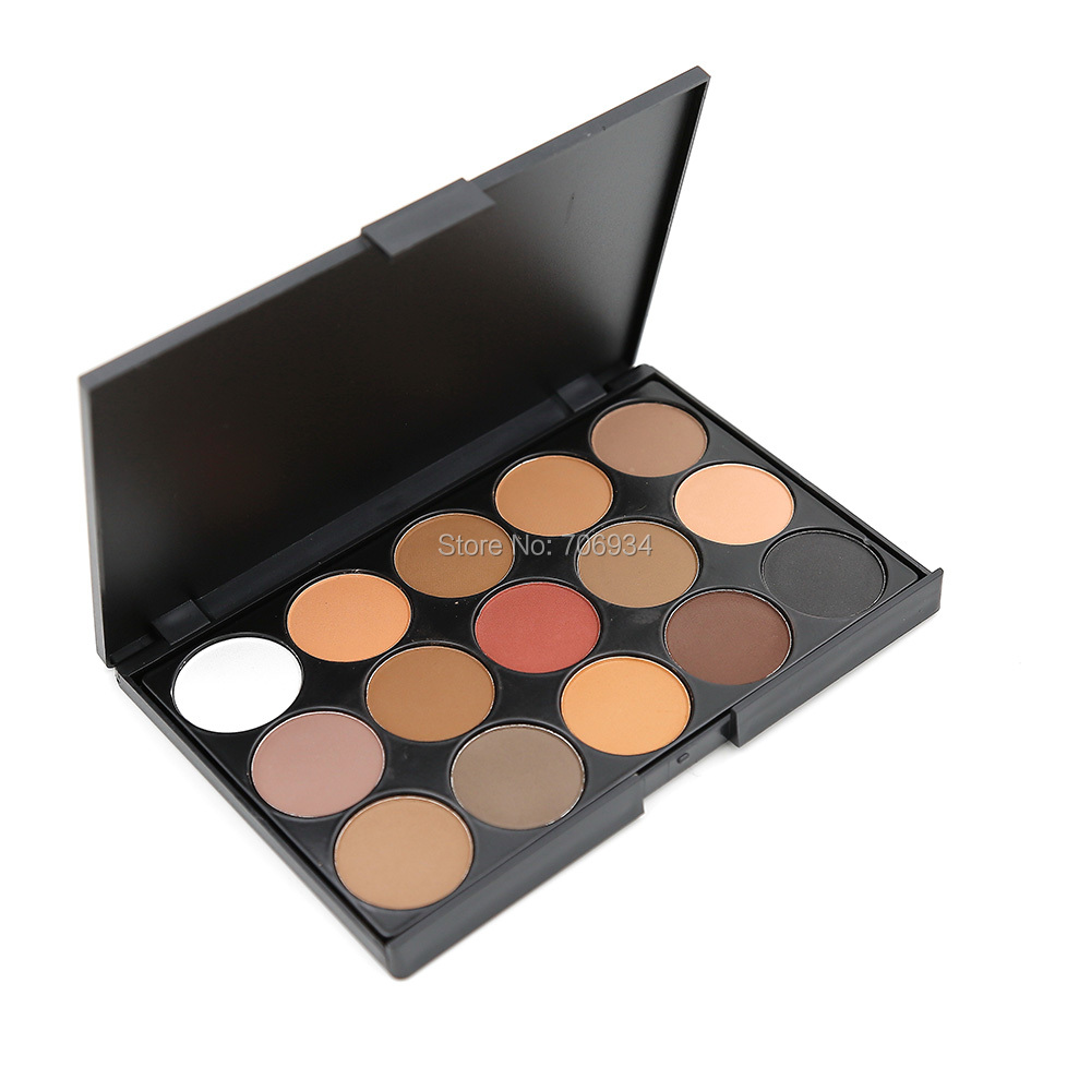 Aliexpress.com : Buy Matte Eyeshadow Palette Makeup 1 pcs 15 ...