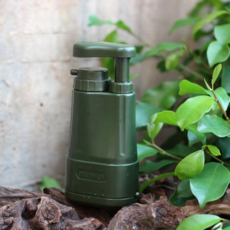 Portable water purifier for camping hiking fishing,emergency disaster preparedness survival water filter filtration system #2