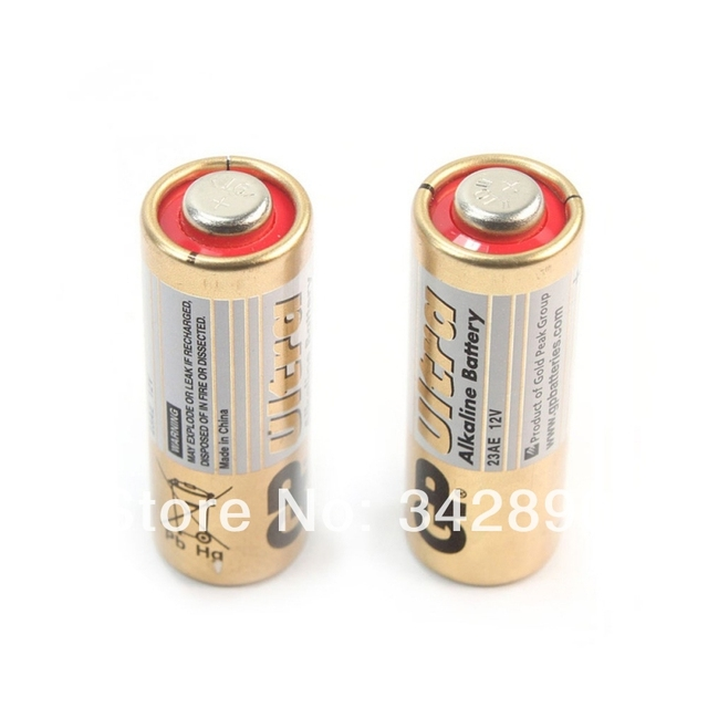 Оптовая продажа 10 шт. GP 23AE 12 В AAA щелочные Батареи Бесплатная доставка