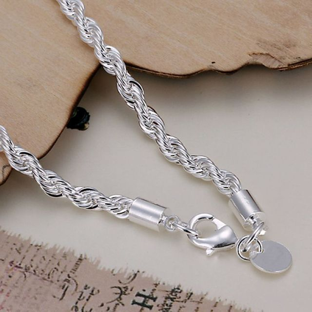 925 jewelry silver plated  jewelry  fashion bracelet top quality wholesale and retail 2