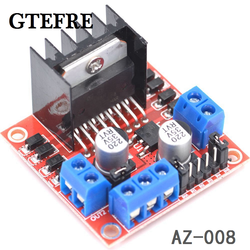Free shipping new dual h bridge dc stepper motor drive for H bridge dc motor driver