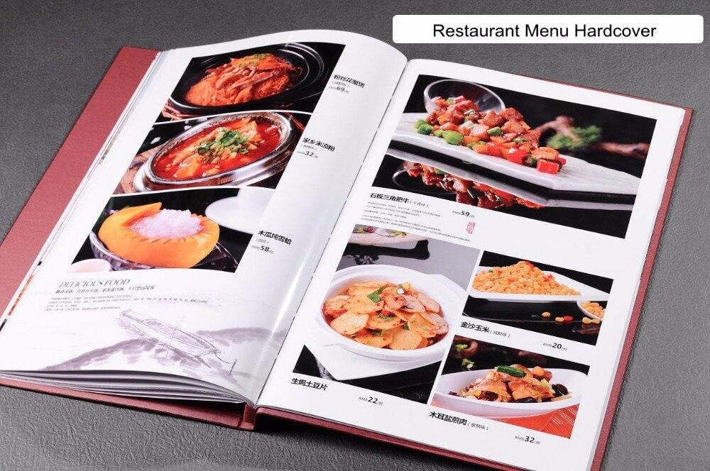 Hard Cover Maker A4 Størrelse til Photo Books Restaurant Menuer - Kontorelektronik - Foto 6