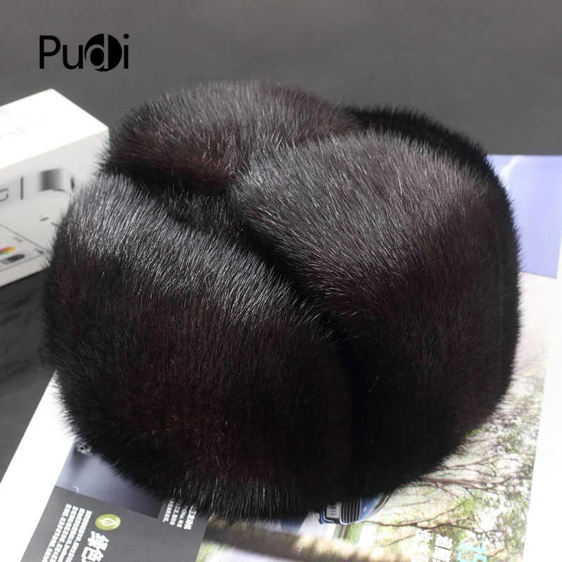 2780248b1 Detail Feedback Questions about Pudi 170760 men mink fur hat Men's ...