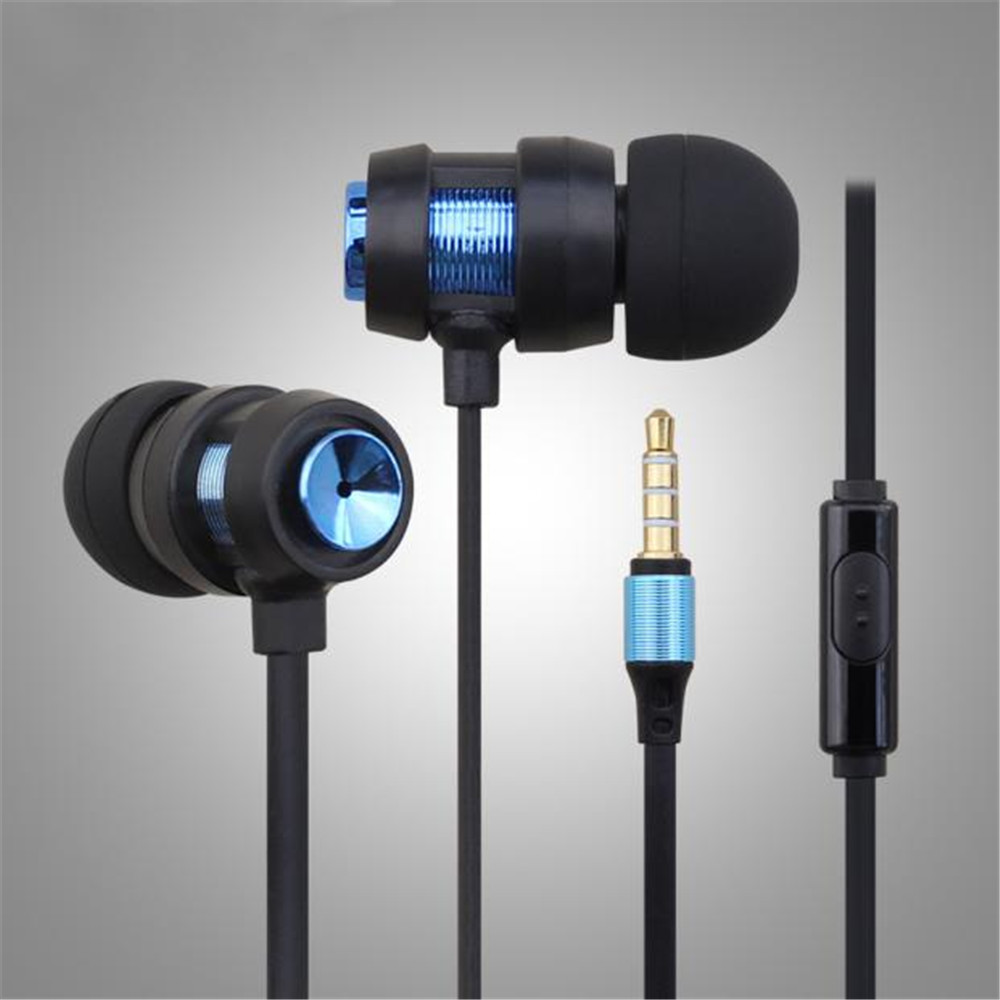1PC Super Bass Stereo Storage Bag Head In-Ear Stereo Sports Earphones phone air pods Sport headphone in ear Headphones with mic