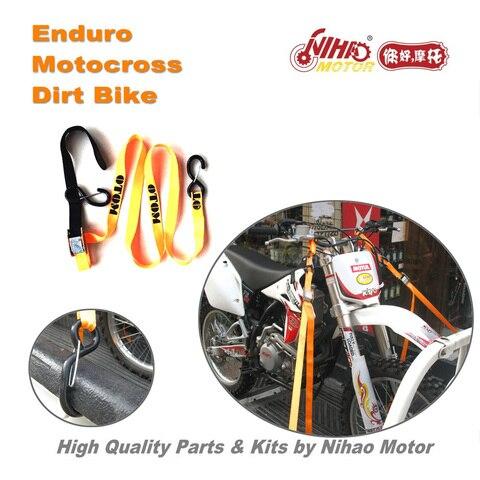 84 Motocross Parts Universal Ratchet 1.8m belt bind pull motorcycle transportation Enduro Kit Dirt bike spare cross Pakistan