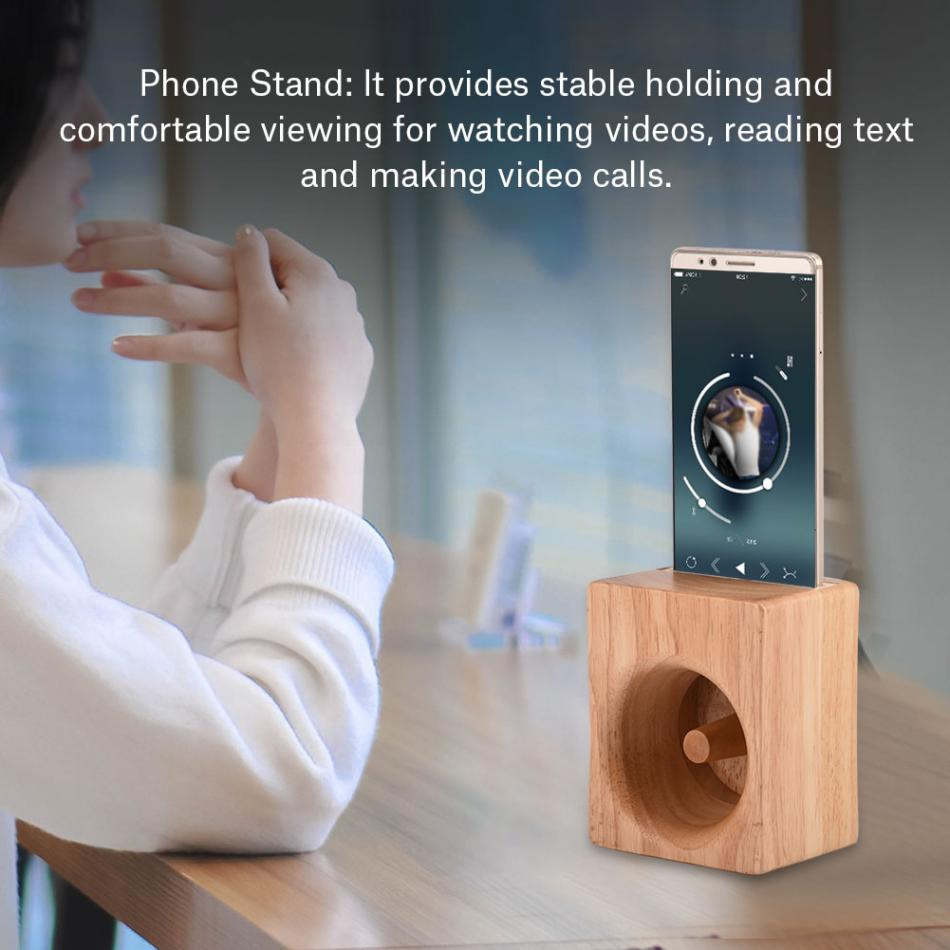 Buy Boxwood Phone Stand Speaker Sound Amplifier No Project 116 Subwoofer Amp Power Wooden Holder Cellphone Charging Dock From Reliable Portable Speakers Suppliers On