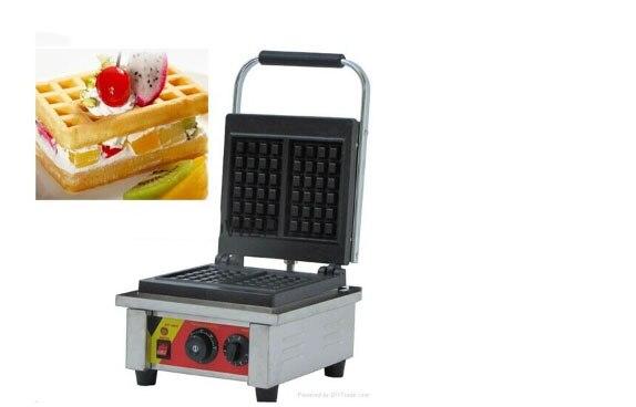 Чугун два квадратная вафельница печь Еда машины детская грузовик DIY Micro Еда инструмент печенье бытовые/Коммерческая печь для выпечки