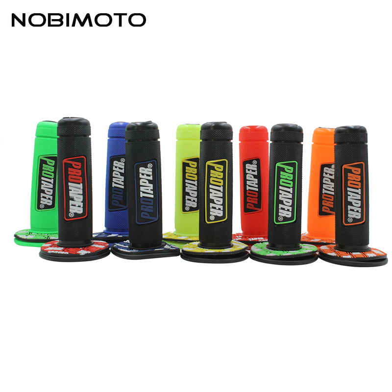 10 Colors Option Handle Grip Protaper Motorcycle Protaper Dirt Pit Bike Motocross 7/8