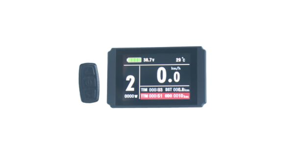 Steady E-bike 24v/36v/48v Kt Lcd8h Color Matrix Display Intelligent Meter Control Panel With 5 Pins Plug For Kt Cont To Have A Unique National Style Atv,rv,boat & Other Vehicle