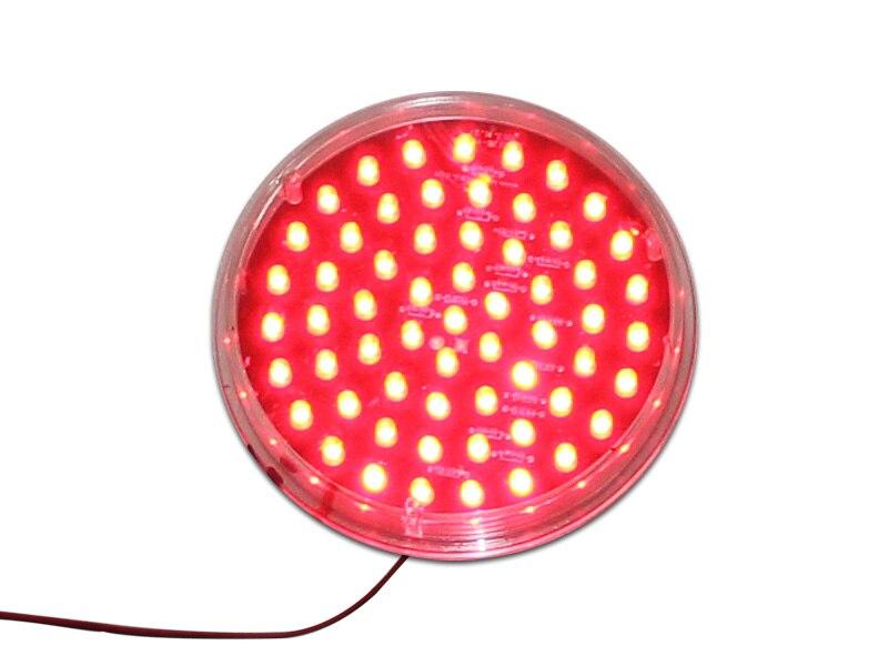 nucleo conduzido vermelho trafego da lampada 01