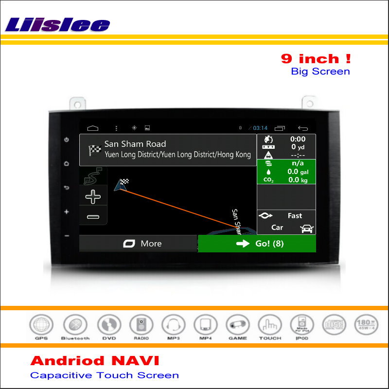 Liislee Car Android <font><b>GPS</b></font> Navigation System For <font><b>Mercedes</b></font> Benz B Class W245 B170 <font><b>B180</b></font> B200 2005~2011 Radio Stereo ( No DVD Player ) image