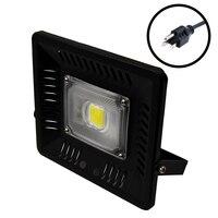 LED Floodlight 110V 120V 130V LED Floodlight Outdoor Lighting 50W Reflector LED Spotlight IP65 Waterproof