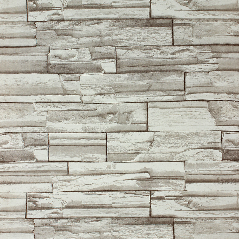Paper Stone Walls : Meters d wall paper modern stone wallpaper