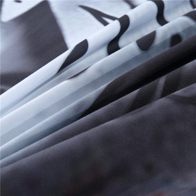 3D SKULL HALOWEEN BEDDING SETS (2 VARIAN)