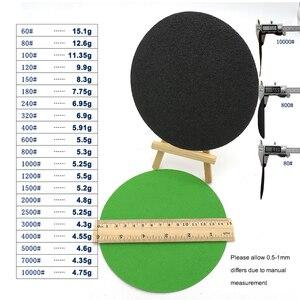 Image 3 - 20 adet 6 inç 150mm su geçirmez zımpara diskleri kanca ve döngü silikon karbür zımpara ıslak/kuru 60 10000 Grit parlatma