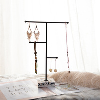New Metal Creative Earrings Necklace Bracelets Chain Display Holder Jewelry Display Stand
