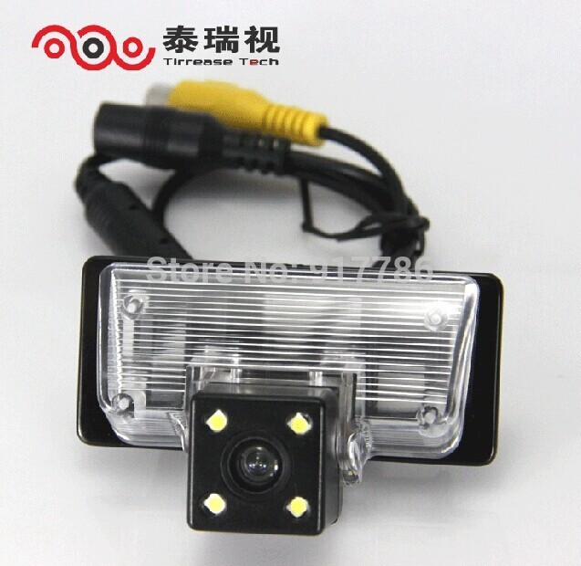 car rear view camera reverse license plate light for SONY CCD Nissan TEANA TIIDA Sylphy Altima Venucia D50 parking assist