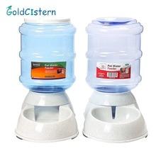 3.5L Cats Dogs Automatic Pet Feeder Pet Drinker Cat Feeding Bottle Pets Dog Food Bowl Water Dispenser Pet Supplies