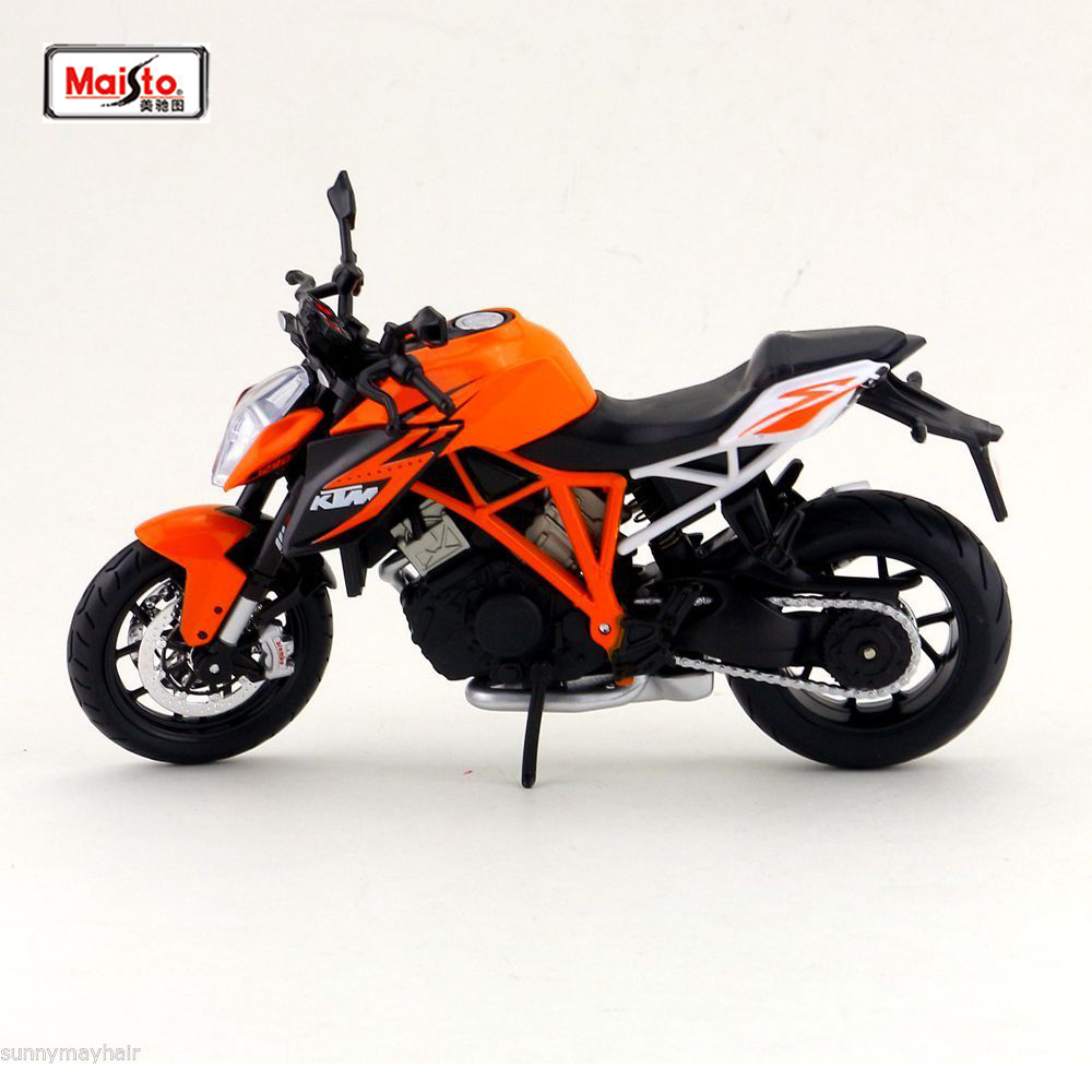 Cheap Toys Maisto 1:12 KTM 1290 Super Duke R Metal Diecast Vehicles Motorcycle Diecast Moto Kids Toys Collection Gifts