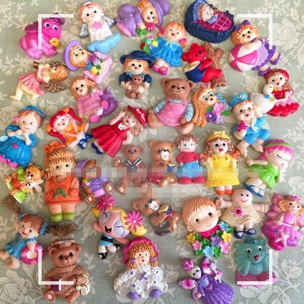 Cute Rare Vintage Teddy Bear Baby Girl Doll Figure Toy ...