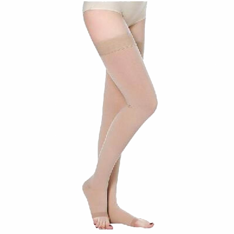 New Professional Varicose Veins Thigh High 25-30 mmHg Medical Compression Stockings for Women Health