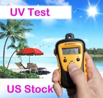 כף יד הדיגיטלי LCD אור UV חוזק Tester מטר פוטומטר UV גלאי ארה