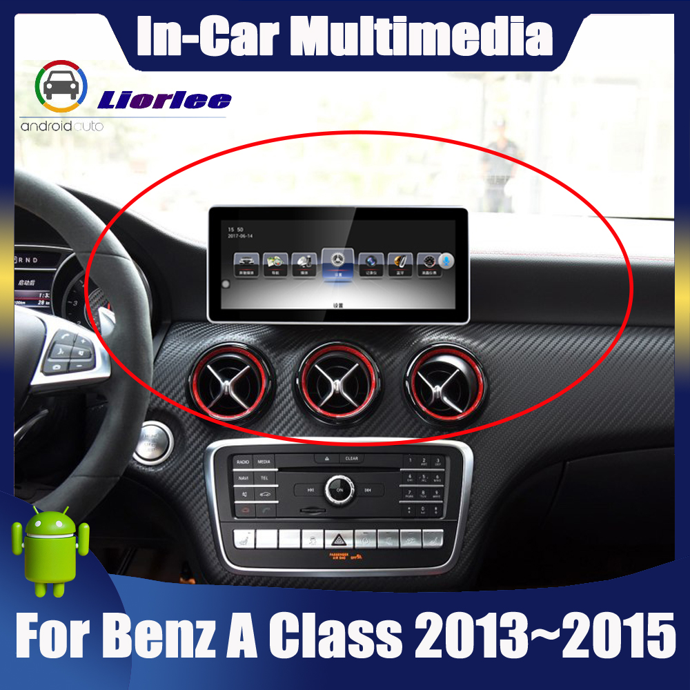 Android Touch Screen For <font><b>Mercedes</b></font> Benz A Class <font><b>W176</b></font> 2013~2015 Car Radio Bluetooth GPS <font><b>Navigation</b></font> WiFi Screen image