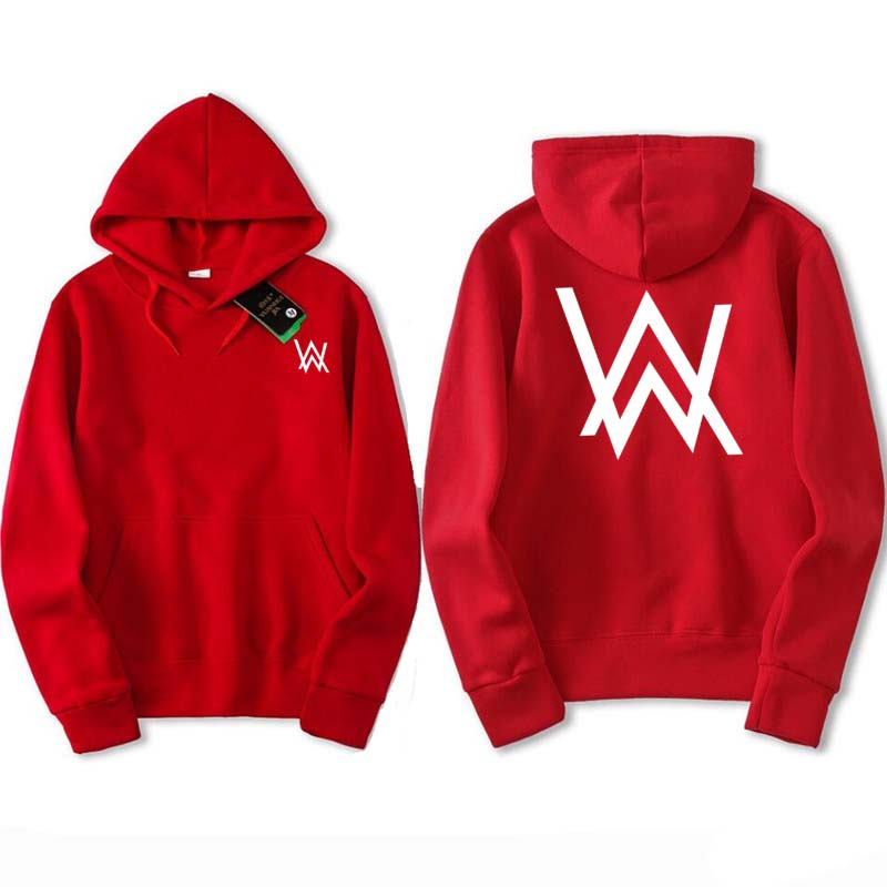 Fade 2018 AW New Sweatshirts Music DJ Comedy Alan Walker Clothes Hip Hop Hoodie red Black gray Hooded Hoody Men Suprem Hoodies
