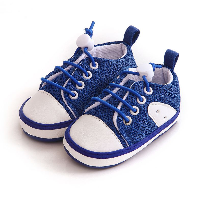 Lovely Baby Sneakers Newborn Baby Crib Shoes Girls Toddler Laces Soft Sole Shoes Fresh Casual Shoes