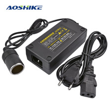 AOSHIKE 1PC Car Inverter AC 100V 220V to DC 12V Car Cigarette Lighter Converter Power Adapter Voltage Transformer Socket EU Plug